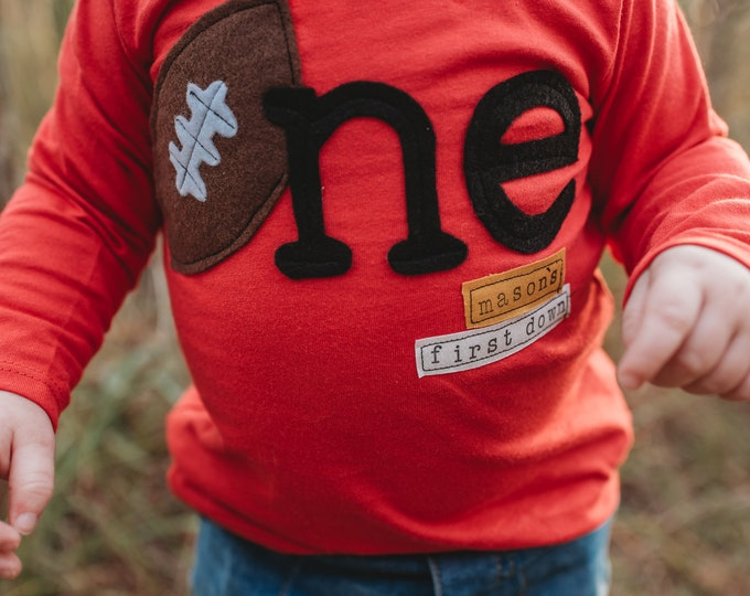 "Swanky Shank ""Mason's First Down""  Long Sleeved Tee"