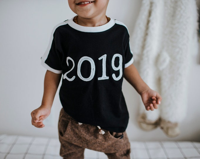 "Gender Neutral Soccer Tee ""2019"" New Years Tee-- Limited Supply"