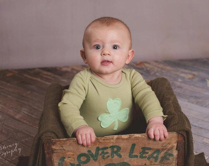 Swanky Shank Baby St. Patty's Day Dyed Bodysuit