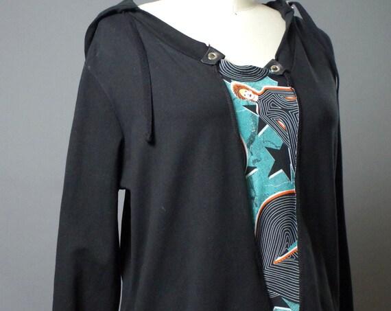 David Bowie - David Bowie Sweatshirt - Up-cycled Clothing -  David Bowie Fashion