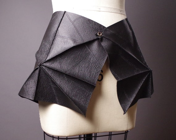 Skirt Leather Belt - Black Leather Skirt Belt - Leather Skirt Belt - Leather Accessories - Fashion Accessories