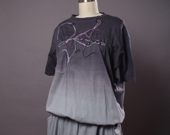 Gray Loose Dress - Spring Dress - Summer Dress - Casual Loose Dress
