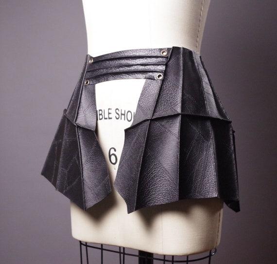 Skirt Leather Belt - Black Leather Skirt Belt - Leather Skirt Belt - Leather Accessories - Fashion Accessories