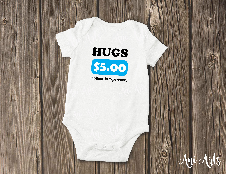 Schmiegt sich an weißen Baby Bodysuit lustige Baby Geschenk | Etsy