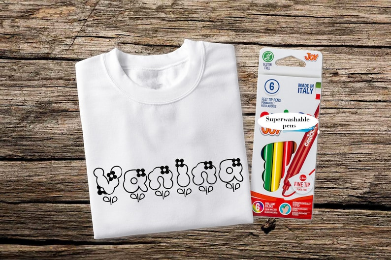 Personalized Coloring Shirt Boys' Clothing (sizes 4 & Up) Kids' Clothing, Shoes & Accs