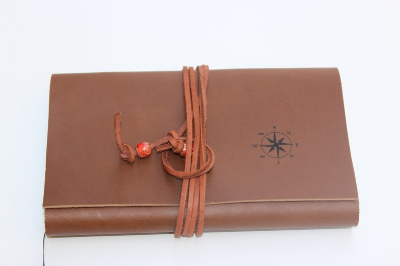 Leather Journal Notebook Personalized Diary Guest Book Writers Logs Custom Leather Journals