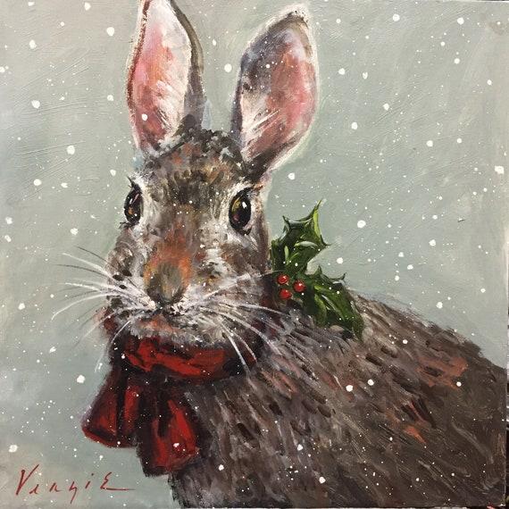 The Christmas Bunny.Christmas Bunny