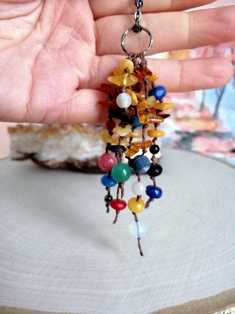 AMBER TOURMALINE CITRINE crystal necklace Tourmaline  crystal pendant Aura crystals Mother/'s day gifts Tourmaline jewelry