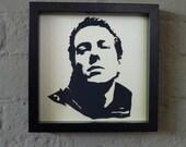 Joe Strummer (of The Clash) Handmade Papercut Portrait