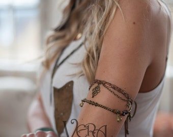 Gypsy Bell 3 in 1, Armband, Anklet and Choker in Assorted Colours