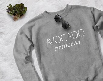 84e95dfc1c Avocado shirt tumblr Sweatshirt funny crewneck sweatshirts for womens  graphic tees teen girl gift shirt with saying sweater jumper vegan
