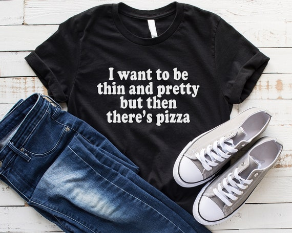 Pizza Is My Life Tour Sweater Top Jumper Sweatshirt Funny Tumblr Grunge Band