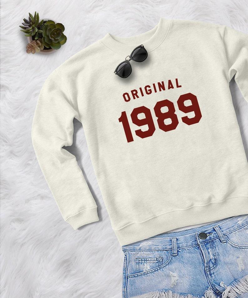 30th Birthday For Her Gift Sweatshirt Women Pullover