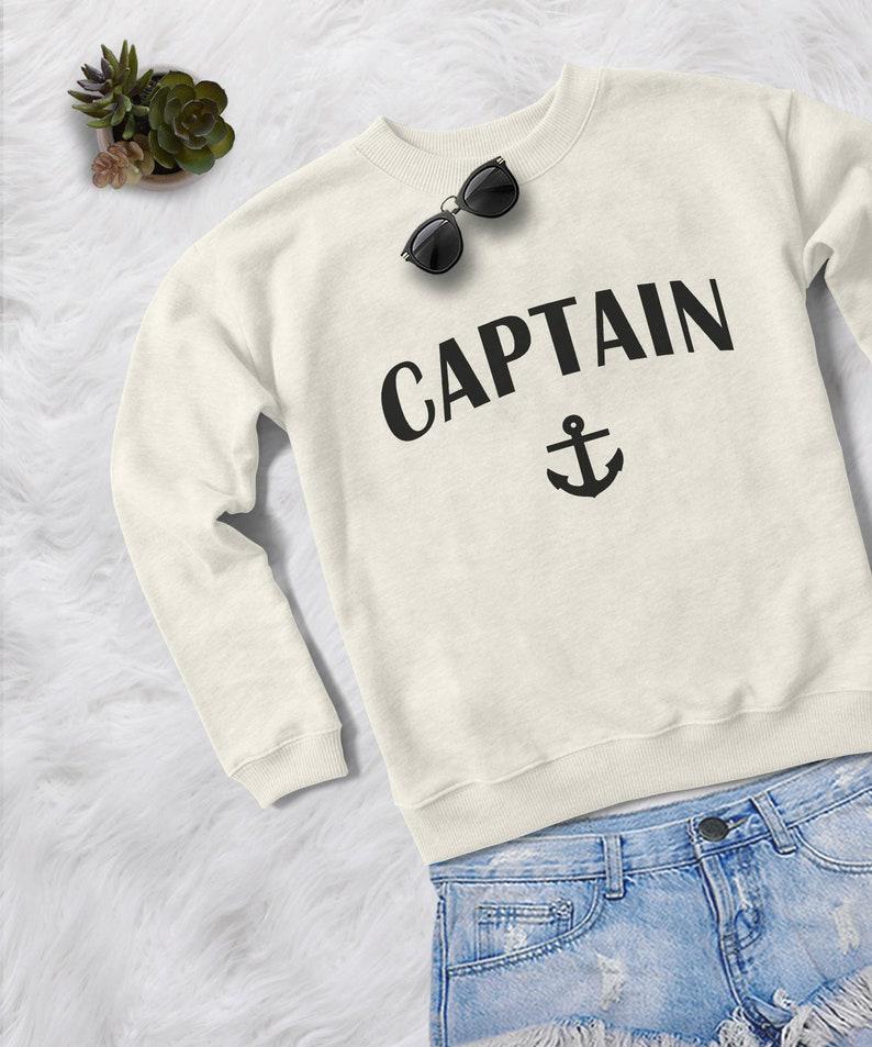 41cdff71 Nautical anchor crewneck sweatshirt graphic sweater funny | Etsy