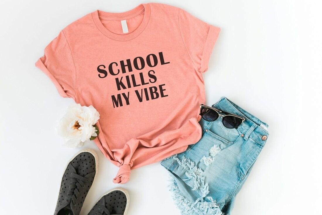 Retour à la Hipster chemise de l école drôle chemises T-Shirts citation  chemise 725c573604f