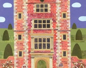 Bloomsbury Group Literary Greeting Card, Vita Sackville-West, Stately Home, Sissinghurst, Garden,Writers Houses,National Trust,Amanda White