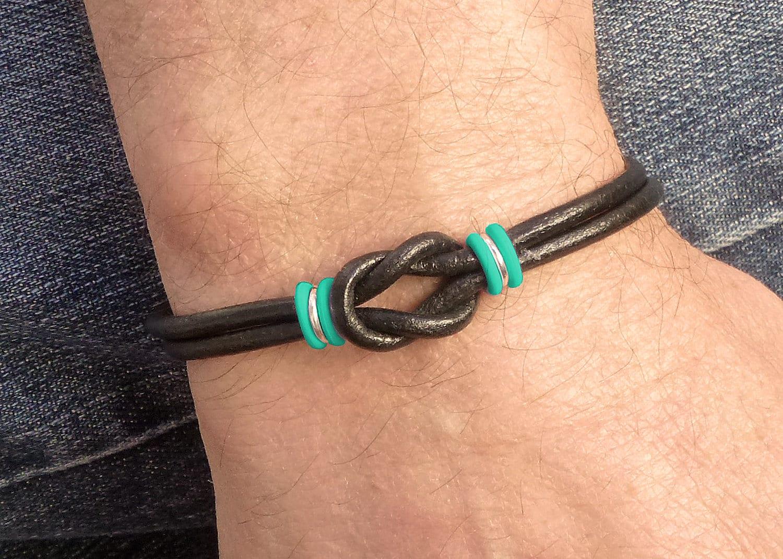 Ovarian Cancer Awareness Bracelet Ovary Cancer Infinity Etsy
