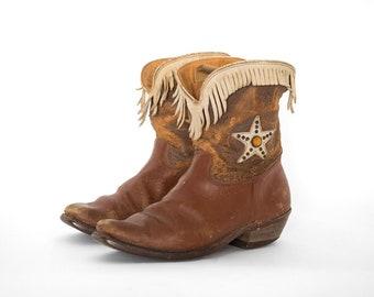 f8d9fb33d20 Vintage baby cowboy boots | Etsy
