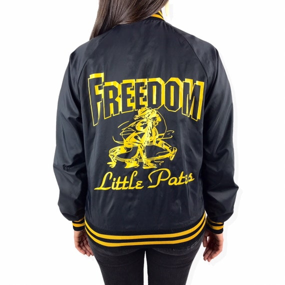 1970's FREEDOM wrestling bomber jacket