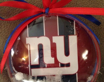 New York giants ornament