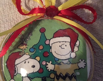 Peanuts Charlie Brown christmas ornament