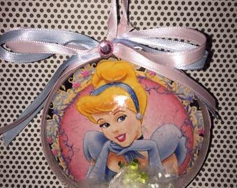 Disney cinderella themed ornament