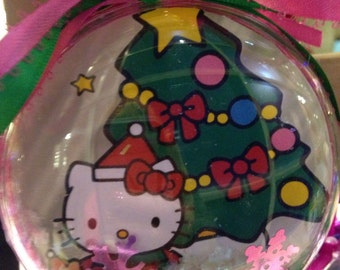 Hello kitty ornament