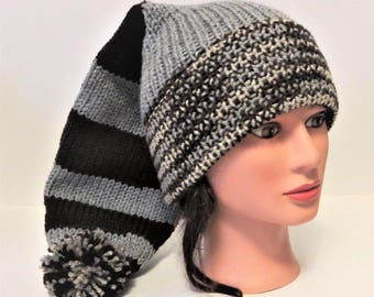 Cocoa and Gray Elf Hat cccf7af79f6