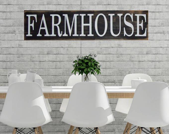Farmhouse Sign, Farmhouse Decor, Farmhouse Wall Decor, Rustic Farmhouse Sign, Farmhouse Kitchen Sign, Modern Farmhouse Style, Rustic Signs