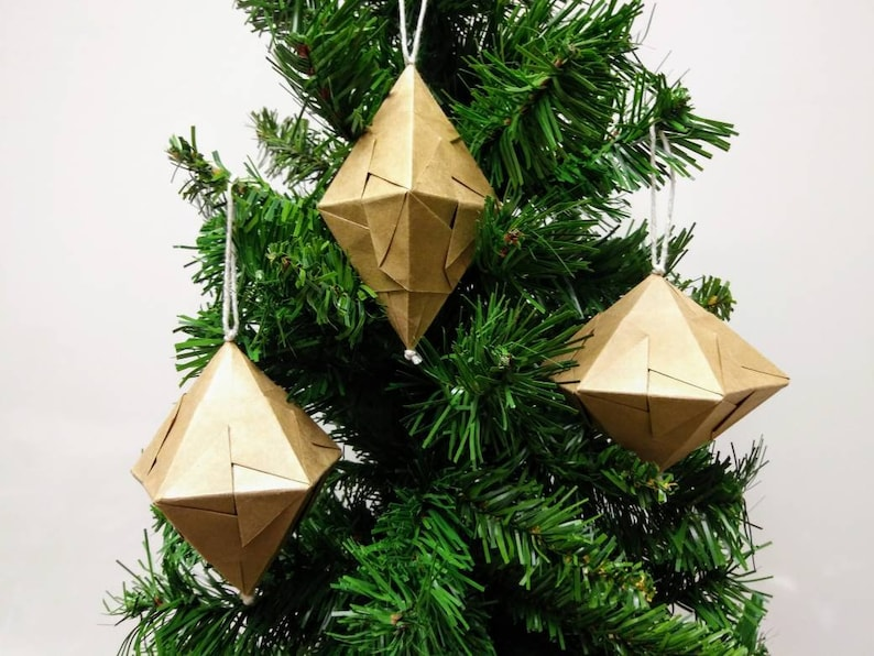 Folding 5 Pointed Origami Star Christmas Ornaments | Christmas ... | 596x794