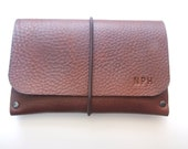 Personalised Leather Passport Holder Monogrammed Leather Passport Cover Engraved Leather Passport Sleeve Custom Leather Cover for Him Her