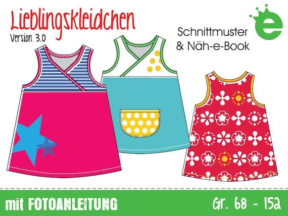 Lieblingskleidchen Gr. 68-152 Näh-eBook & Schnittmuster   Etsy