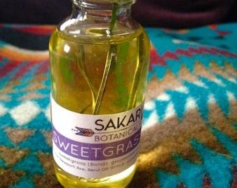 Organic Sweetgrass Oil