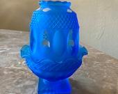 Westmoreland Fairy Lamp In Mediterranean Blue
