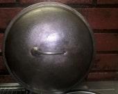 Skillet 0r Dutch Oven Cast Iron Lid Self Basting