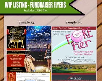 Custom Fundraiser Flyer