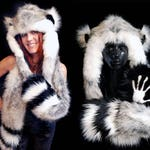 Lemur Playa Hood - Faux Fur Hats - Scoodie - Spirit Animal