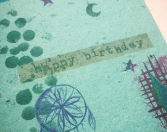 Wildflower Seeded Birthday Card with Envelope - 4x6 inch