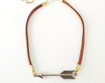 Arrow Choker Necklace