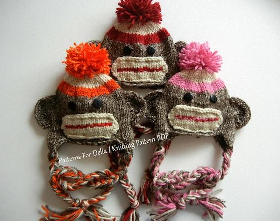 Sock Monkey Hat Pattern Knit Image Collections Knitting Patterns