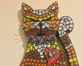 Rosie the Cat Mosaic