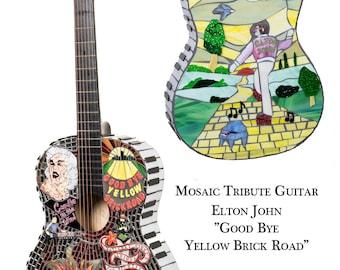 Elton John Goodbye Yellow Brick Road Note Card