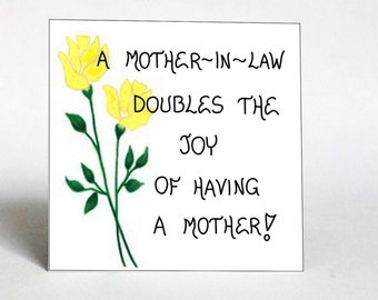 Refrigerator Magnet Mother In Law Gift Friendship Quote Etsy