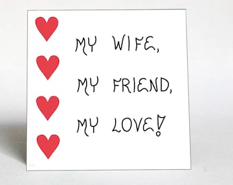 Message to Wife, Quote about Love, Words of friendship for Spouse