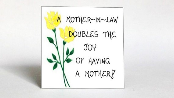 Gift For Mother In Law Quote Mom Of Spouse Other Mother Etsy