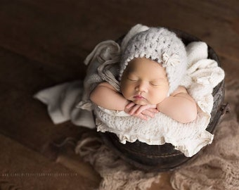 Angora Newborn Bunny Hat And Toy Knitted Lilac Fuzzy Baby Girl Bonnet Stuffed Newborn Angora Hat Photography Props Baby Toy Prop Available In Various Designs And Specifications For Your Selection Mother & Kids Boys' Baby Clothing
