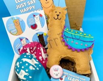 LLAMA GRAM  Handmade stuffed Llama Plush Gift for Any Occasion FREE Shipping