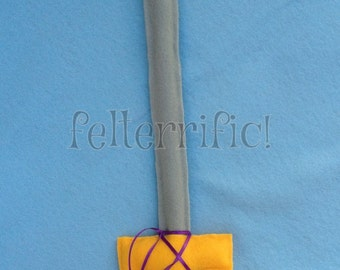 Handmade Felt Play Sword