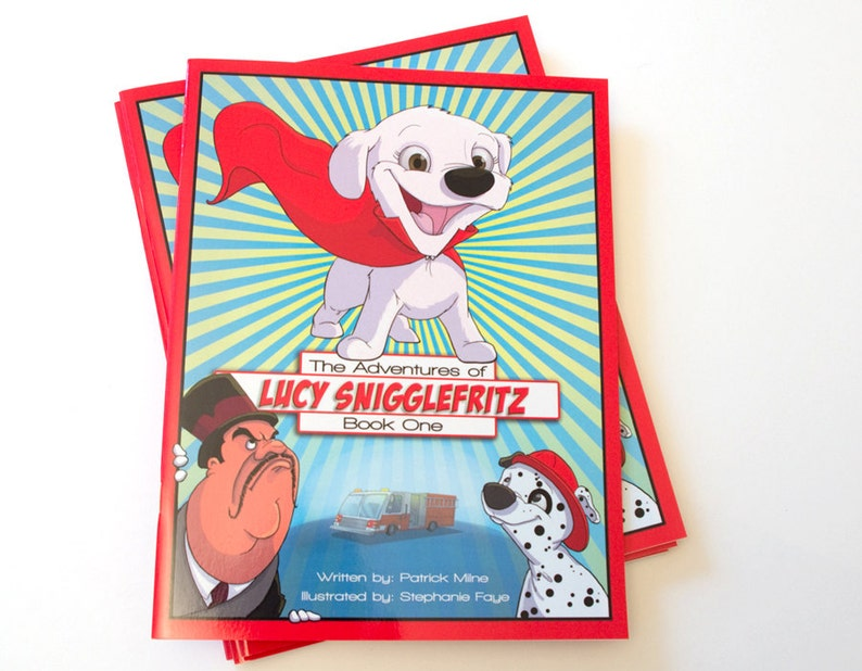The Adventures of Lucy Snigglefritz: Book One  Illustrated image 0