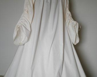 Full-length Beautiful Irish Leine Chemise Renaissance Under Dress many COLORS and SIZES available